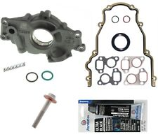 Melling 10296 HIGH VOLUME Oil Pump Change Kit w/Gaskets+RTV+Balancer Bolt GM LS
