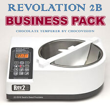 REVOLATION 2B CHOCOVISION REV 2B CHOCOLATE TEMPERING MACHINE BUSINESS PACKAGE