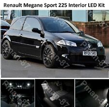 DELUXE Renault Sport Megane 225 Bright White LED interior Light Kit Full