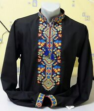 Ukrainian embroidery, embroidered shirt, 2XS - 3XL, Ukraine