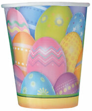 8 x Easter Paper Cups Easter Dazzle Eggs Easter Party Tableware CHEAP CUPS