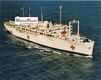 USS REPOSE AH 16 HOSPITAL SHIP PHOTO 8 X 10