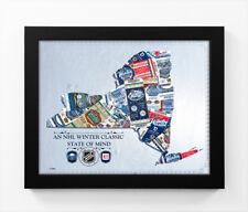 2018 Winter Classic State of Mind Framed Print (New York) - Rangers vs Sabres