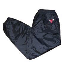 Vintage Chicago Bulls Pro Player Windbreaker Jogger Warm Up Track Pants Size XL