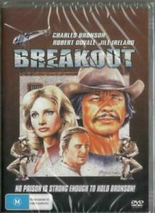 Breakout DVD Charles Bronson New and Sealed Australia