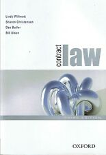 CONTRACT LAW Lindy Willmott, Sharon Christensen et al (3rd Ed 2009) FREE EXPRESS