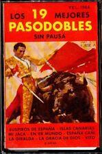 LOS 19 MEJORES PASODOBLES Sin Pausa - SPAIN CASSETTE Columbia1983 - Non Stop