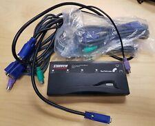 StarTech 4 Port PS/2 KVM w/ Cables (SV411)