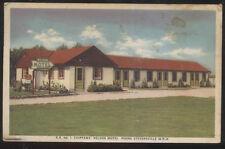 1953 AD POSTCARD NIAGARA ONTARIO CANADA CHIPPAWA NELSON HOTEL