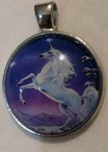 Unicorn Pendant Necklace, no Chain ,Flying Horse Kids Girls Jewellery,UK seller
