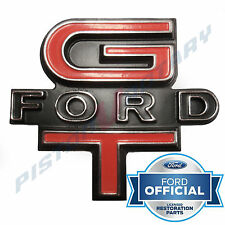 GT FORD Grille Badge , Chrome , BRAND NEW , for XW Ford Falcon 351 GS Grill