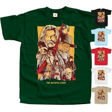 The Hateful Eight V4 western movie poster DTG Print T Shirt All sizes S-5XL