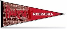 "NCAA Nebraska Cornhuskers 12"" x 30"" Pennant, NEW"