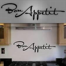 "Bon Appetit Wall Decal, Bon Appetit Sticker, Kitchen Wall Decor - 36"" x 10"""
