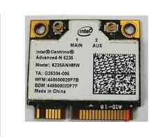 Intel Network 6235AN.HMWWB Wireless WiFi Centrino Advanced-N 6235 Dual Band