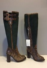 UGG Collection Aldabella Classic Tall Over The Knee Sheepskin Boot 5.5 Italy