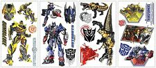 TRANSFORMERS 4 EXTINCTION OF AGE Wall Decals Bumblebee Optiumus Decor Stickers
