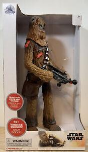 "Disney Store Exclusive NEW Star Wars Talking Chewbacca Deluxe Figure 15"""