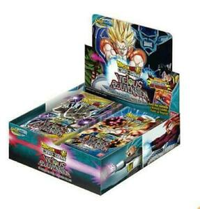 Dragon Ball Super Vicious Rejuvenation Unison Warrior Set 3 Booster Box SEALED