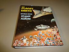 Vintage The Planet Earth World Wide Stamp Collecting Album Canadian Wholesale