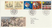 7 APRIL 1992 EUROPA ROYAL MAIL FIRST DAY COVER BUREAU SHS (c)
