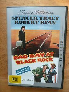 BAD DAY AT BLACK ROCK DVD SPENCER TRACY NEAR NEW REGION 4 PAL AUS