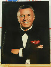 """Frank Sinatra Souvenir Program Book 1990 Photos 30 Pgs Collages 12"""" x 9"""""""