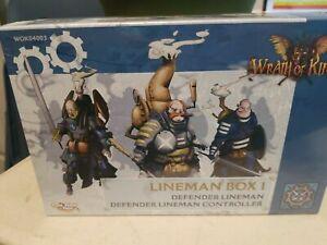 Wrath of Kings House Teknes Lineman Box #1 WOK04003 NEW
