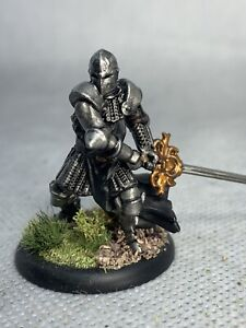 Knight with Greatsword Painted Miniature for D&D or Pathfinder Fantasy RPG