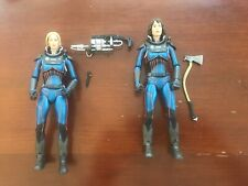 Meredith Vickers & Dr. Shaw Prometheus NECA Figures Lot Alien Lost Wave Series 4