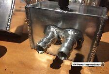 VW GOLF MK2 MK3 VR6 Custom Made CNC Billet Brake Fluid Reservoir Shave Bay Sm...