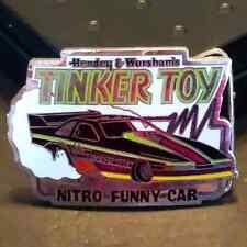 Vintage VTG Hendey Worsham's Nitro Funny Car Drag Racing Belt Buckle