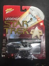 Legends of Star Trek USS ENTERPRISE w damage Johnny Lightning Series 2 RED ALERT