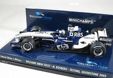 WILLIAMS BMW FW27 Nico ROSBERG F1 2005 testing APRIL SILVERSTONE MINICHAMPS 1:43