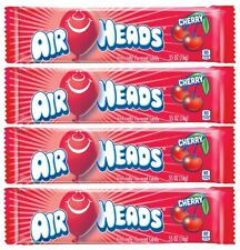 4x Air Heads Cherry Flavor 16g Chewy Candy American Sweets