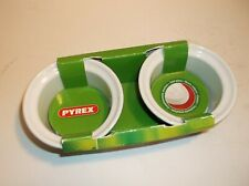 2 X PYREX BLACK  RAMEKIN DISHES- BRAND NEW AND BOXED.