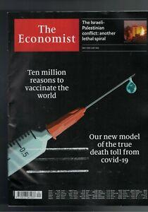 The Economist May 15TH-21ST 2021, neu für weniger als die Hälfte, UVP: 7,50 €