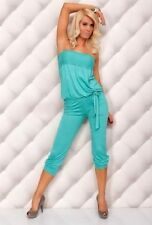 Cotton Blend Unbranded Solid Jumpsuits, Rompers & Playsuits for Women