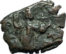 CONSTANS II Pagonatos 641AD Authentic Ancient Byzantine Medieval Coin i66097