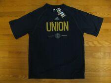 Philadelphia Union Adidas Sprint Climalite T-Shirt - Medium M Navy MLS Soccer