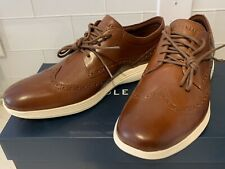 New In Box Cole Haan Grand Tour Wing Ox Shoes Woodbury Ivory C29414 Mens Size 10