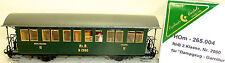 RhB Train à vapeur Voiture ancienne 2ème Kl B 2060 Exclusif Models WABU 265.004