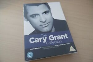 """NEW"""" THE CARY GRANT COLLECTION NIGHT & DAY ARSENIC OLD LACE NORTH BY NORTHWEST"""