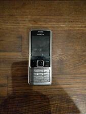 Nokia 6300 - Silver Black (Orange) Mobile Phone