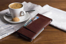 Krusell iPhone 6 Plus Flip Wallet / Cover / Case - Brown LEATHER / iPhone 6+