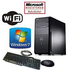 DELL VOSTRO i5 3.1GHZ WINDOWS 7 PRO 16GB RAM DESKTOP PC 1TB HDMI GAMING TOWER
