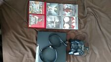 Play Station 3, 2 controllers, charging station, 6 games