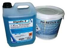 Antialga 10 Kg antialghe agadis Z + 10 Kg Dimunuire PH - Redux Abbassare Piscina