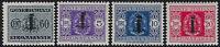 R.S.I. - 1944 - Segnatasse - nuovi MNH - Sassone nn.60/72