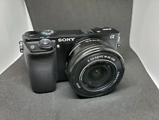 USED FOR PARTS Sony Alpha Sony A6000  (Kit w/ E PZ OSS 16-50mm Le…